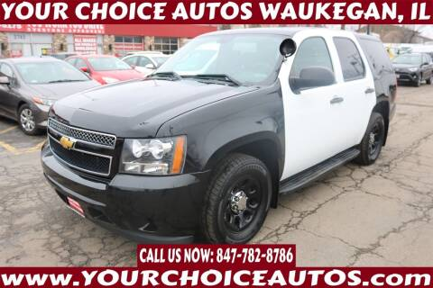 2013 Chevrolet Tahoe for sale at Your Choice Autos - Waukegan in Waukegan IL
