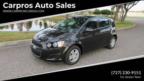 2015 Chevrolet Sonic for sale at Carpros Auto Sales in Largo FL