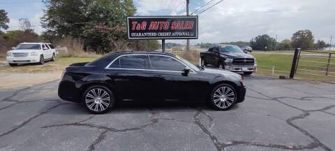 2014 Chrysler 300 for sale at T & G Auto Sales in Florence AL