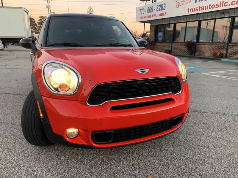 2012 MINI Cooper Countryman for sale at Trust Autos, LLC in Decatur GA