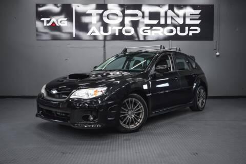 2013 Subaru Impreza for sale at TOPLINE AUTO GROUP in Kent WA
