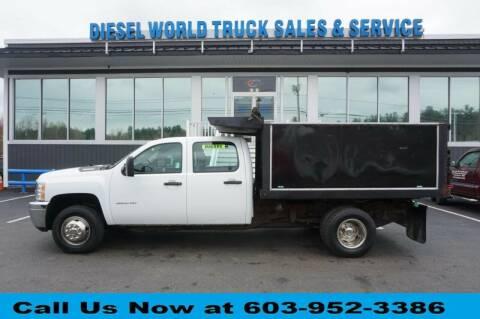 2014 Chevrolet K3500 DUMP 4X4 LANDS for sale at Diesel World Truck Sales in Plaistow NH