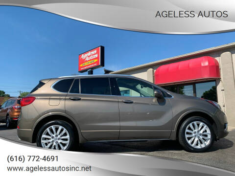 2019 Buick Envision for sale at Ageless Autos in Zeeland MI