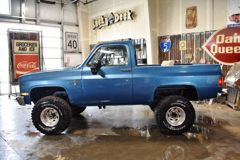 1986 Chevrolet Blazer for sale at Cool Classic Rides in Redmond OR