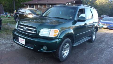 2004 Toyota Sequoia for sale at Select Cars Of Thornburg in Fredericksburg VA