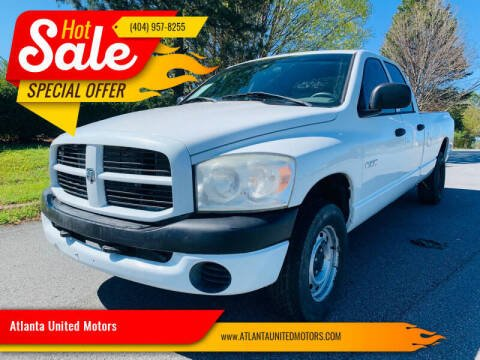 2008 Dodge Ram Pickup 1500 for sale at Atlanta United Motors in Buford GA