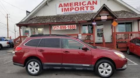 2011 Subaru Outback for sale at American Imports INC in Indianapolis IN