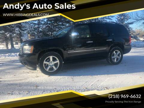 2011 Chevrolet Tahoe for sale at Andy's Auto Sales in Hibbing MN