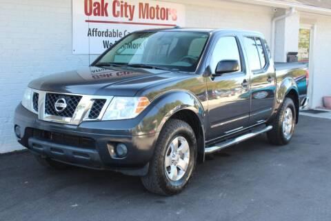2012 Nissan Frontier for sale at Oak City Motors in Garner NC