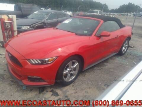2015 Ford Mustang for sale at East Coast Auto Source Inc. in Bedford VA