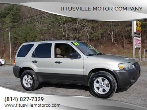 2006 Ford Escape for sale at Titusville Motor Company in Titusville PA