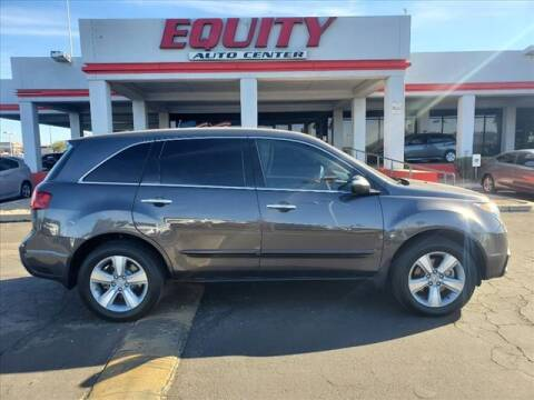 2012 Acura MDX for sale at EQUITY AUTO CENTER in Phoenix AZ