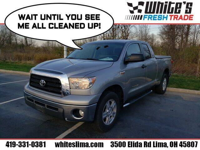 2008 Toyota Tundra for sale at White's Honda Toyota of Lima in Lima OH