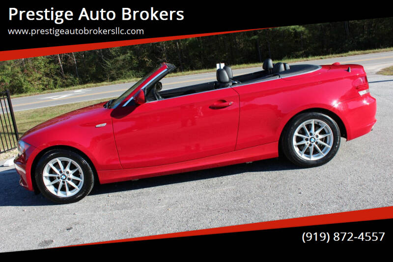 2011 BMW 1 Series for sale at Prestige Auto Brokers in Raleigh NC