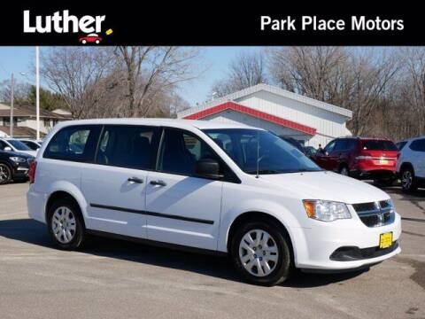 2016 Dodge Grand Caravan for sale at Park Place Motor Cars in Rochester MN