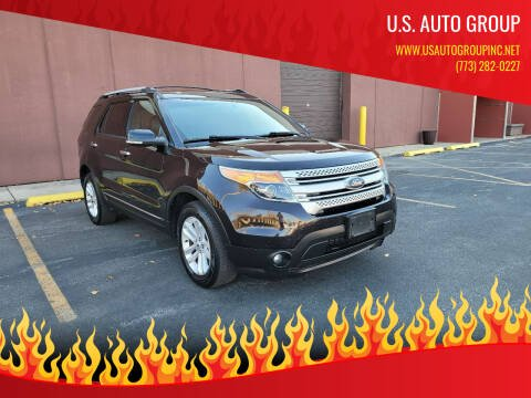 2014 Ford Explorer for sale at U.S. Auto Group in Chicago IL