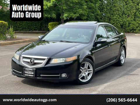 2007 Acura TL for sale at Worldwide Auto Group in Auburn WA