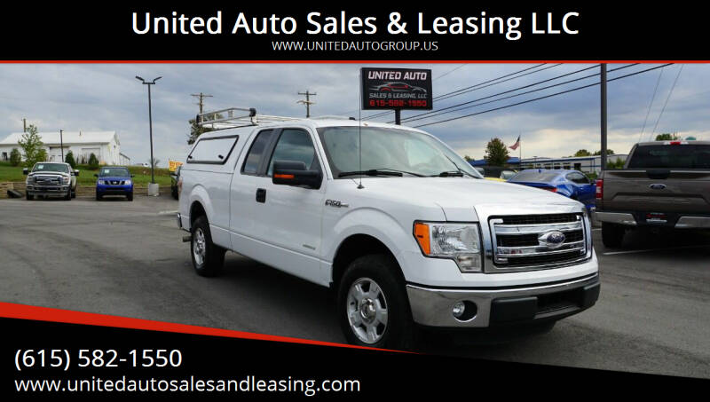 2014 Ford F-150 for sale at United Auto Sales & Leasing LLC in La Vergne TN
