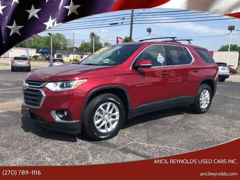 2018 Chevrolet Traverse for sale at Ancil Reynolds Used Cars Inc. in Campbellsville KY