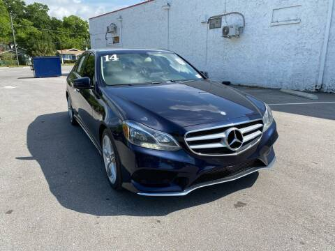 2014 Mercedes-Benz E-Class for sale at Consumer Auto Credit in Tampa FL