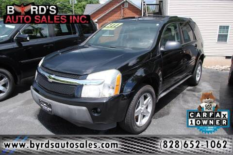 2005 Chevrolet Equinox for sale at Byrds Auto Sales in Marion NC