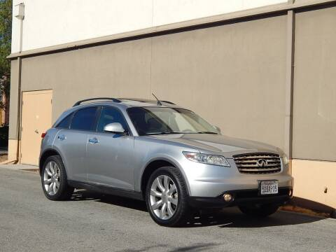 2003 Infiniti FX35 for sale at Gilroy Motorsports in Gilroy CA