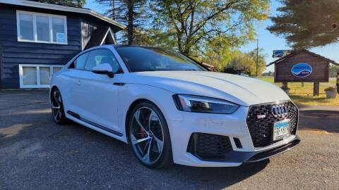 2018 Audi RS 5 for sale at Shores Auto in Lakeland Shores MN