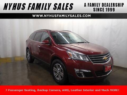 2016 Chevrolet Traverse for sale at Nyhus Family Sales in Perham MN
