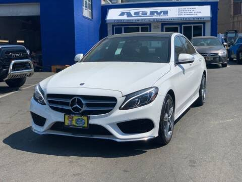 2015 Mercedes-Benz C-Class for sale at AGM AUTO SALES in Malden MA