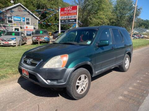2002 Honda CR-V for sale at Korz Auto Farm in Kansas City KS