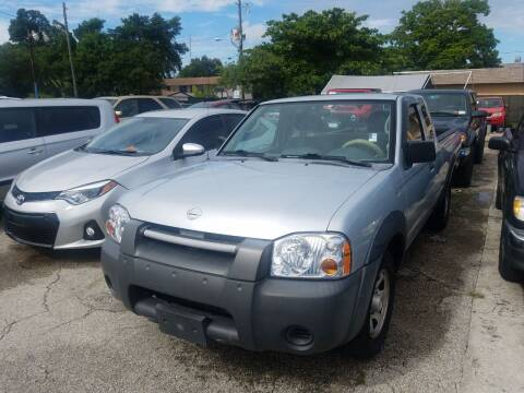 2003 Nissan Frontier for sale at P S AUTO ENTERPRISES INC in Miramar FL