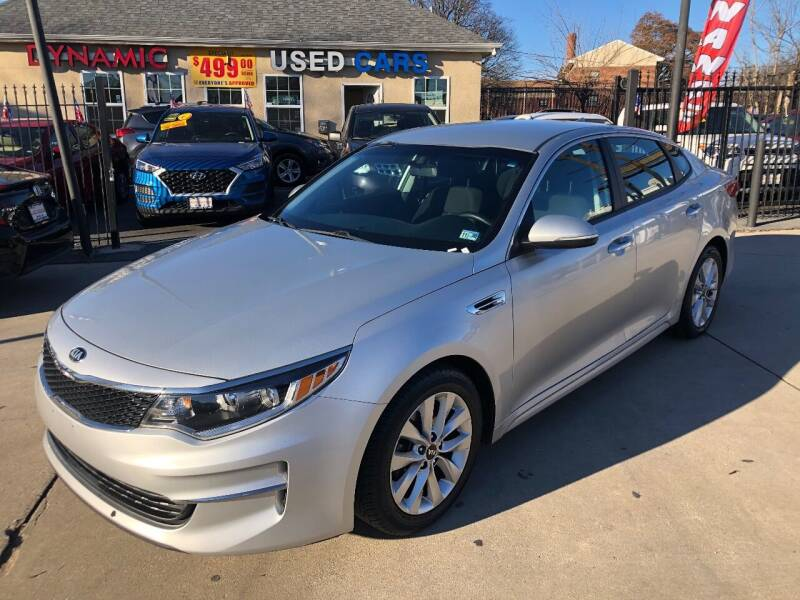 2017 Kia Optima for sale at DYNAMIC CARS in Baltimore MD