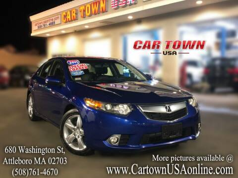 2011 Acura TSX for sale at Car Town USA in Attleboro MA
