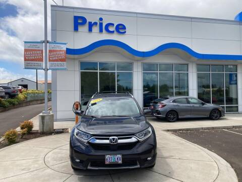 2019 Honda CR-V for sale at Price Honda in McMinnville in Mcminnville OR