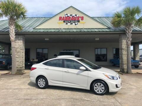 2016 Hyundai Accent for sale at Rabeaux's Auto Sales in Lafayette LA