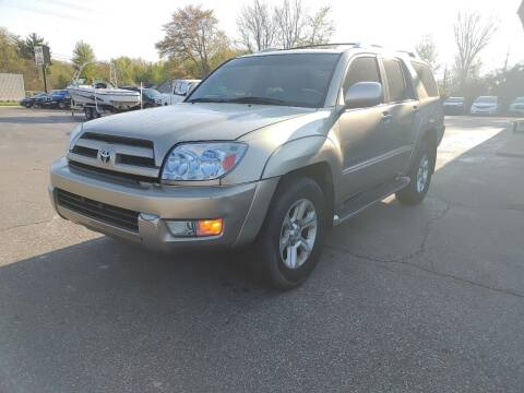 2003 Toyota 4Runner for sale at Cruisin' Auto Sales in Madison IN
