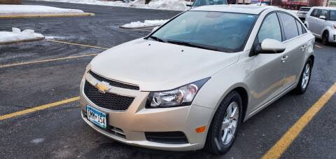 2014 Chevrolet Cruze for sale at Transmart Autos in Zimmerman MN