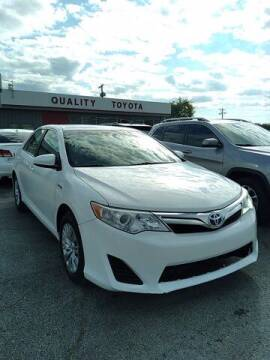 2012 Toyota Camry Hybrid for sale at Quality Toyota in Independence KS