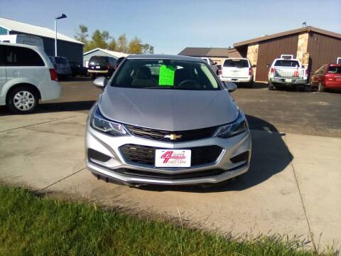 2018 Chevrolet Cruze for sale at Four Guys Auto in Cedar Rapids IA