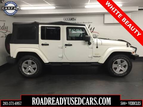 2010 Jeep Wrangler Unlimited for sale at Road Ready Used Cars in Ansonia CT