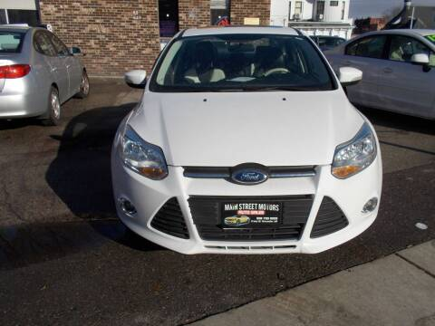 2014 Ford Focus for sale at MAIN STREET MOTORS in Worcester MA