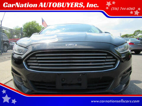 2013 Ford Fusion for sale at CarNation AUTOBUYERS, Inc. in Rockville Centre NY