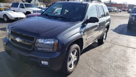 2006 Chevrolet TrailBlazer for sale at Advantage Auto Sales & Imports Inc in Loves Park IL