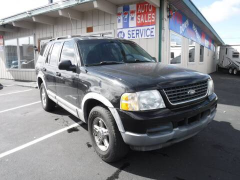2002 Ford Explorer for sale at 777 Auto Sales and Service in Tacoma WA