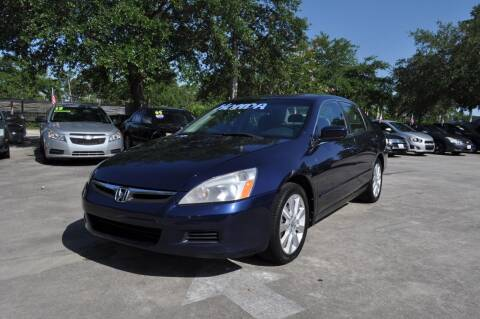 2007 Honda Accord for sale at STEPANEK'S AUTO SALES & SERVICE INC. in Vero Beach FL