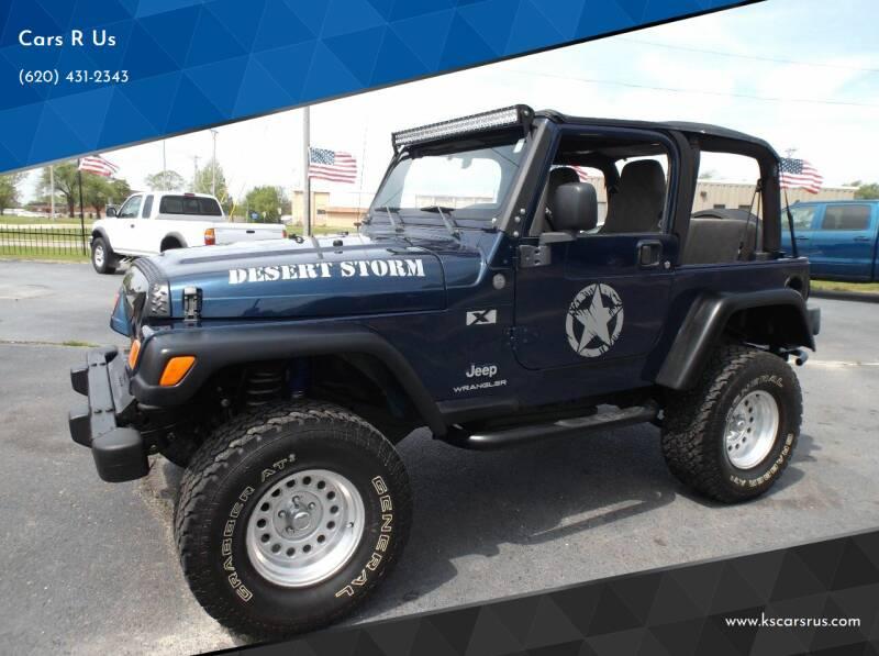 2004 Jeep Wrangler for sale at Cars R Us in Chanute KS