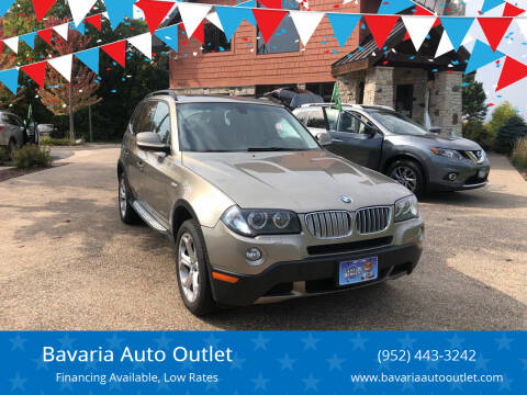 2010 BMW X3 for sale at Bavaria Auto Outlet in Victoria MN