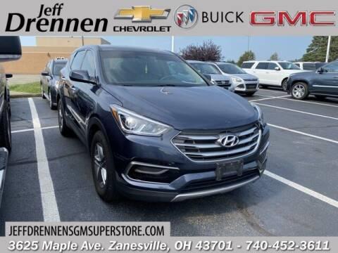 2017 Hyundai Santa Fe Sport for sale at Jeff Drennen GM Superstore in Zanesville OH