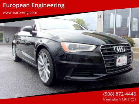 2015 Audi A3 for sale at European Engineering in Framingham MA