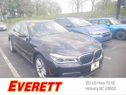 2016 BMW 7 Series for sale at Everett Chevrolet Buick GMC in Hickory NC